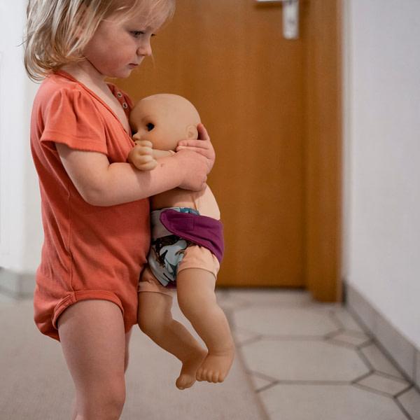 Puppeneltern und Zubehör